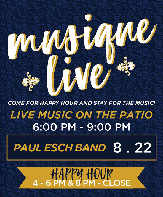 Join us for Live Music on the Patio!!